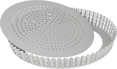 Silvertop tærteform perforeret 24 cm