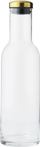 Bottle Carafe, 1 L, w. Brass Lid