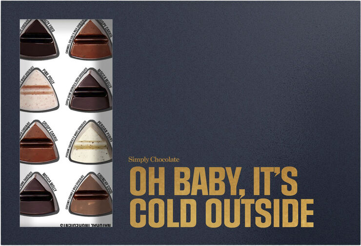 24 pcs Oh baby it's cold outside, Simply Box (240 g)