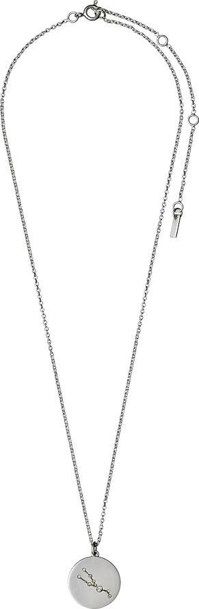 Taurus halskæde sølvbelagt