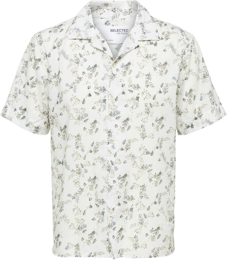 SLHRELAXANESS SS SHIRT G