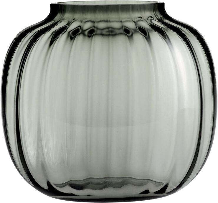 Primula Oval Vase smoke H17,5
