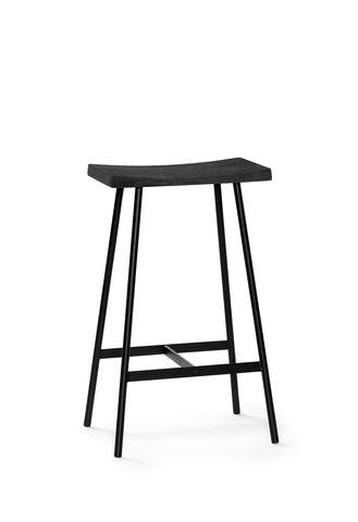 HC2 Seat Oak black lacquer