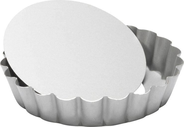 Silvertop tærteform med løs bund 10 cm.