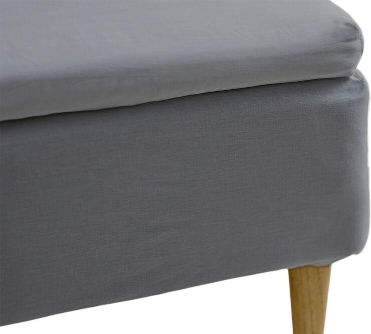 Kuvertlagen 180x200x8 Calm Grey