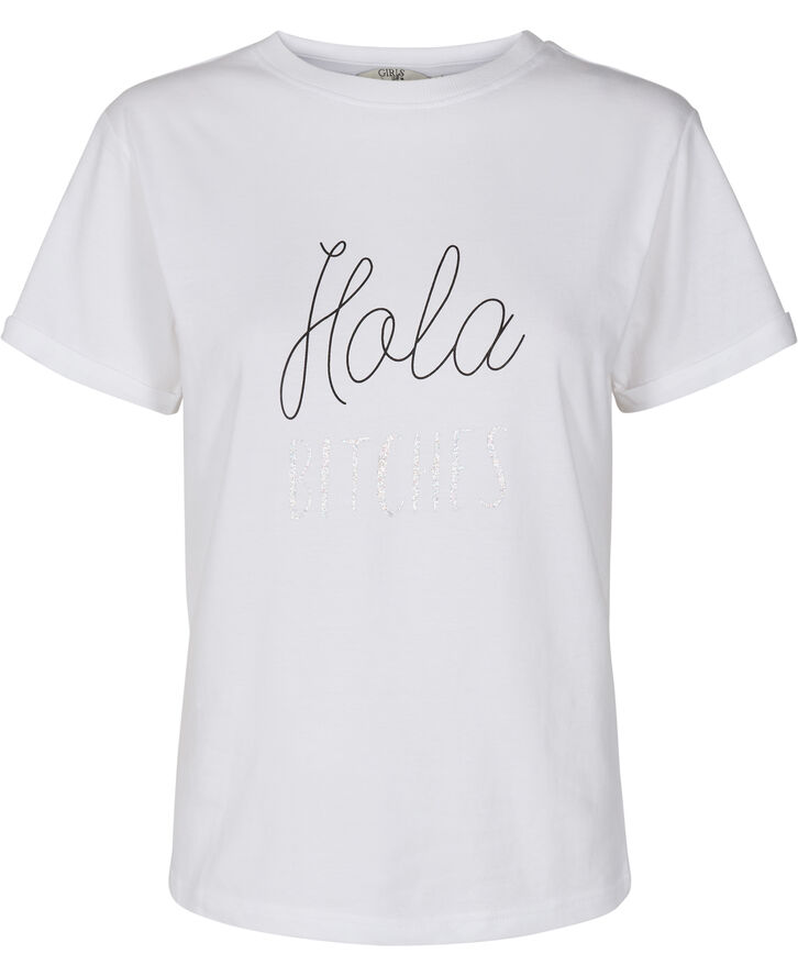 720044 Hola Bitches T-shirt
