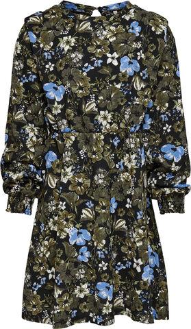 KONSAGA L/S SHOULDER DETAIL DRESS J