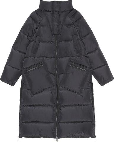 F6447 Lang oversize puf-frakke