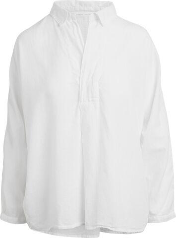 Cotton placket shirt