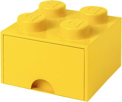 LEGO BRICK DRAWER 4 - YELLOW