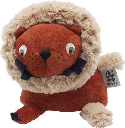 Aktivitetslegetøj, løven Lee, sorbet orange