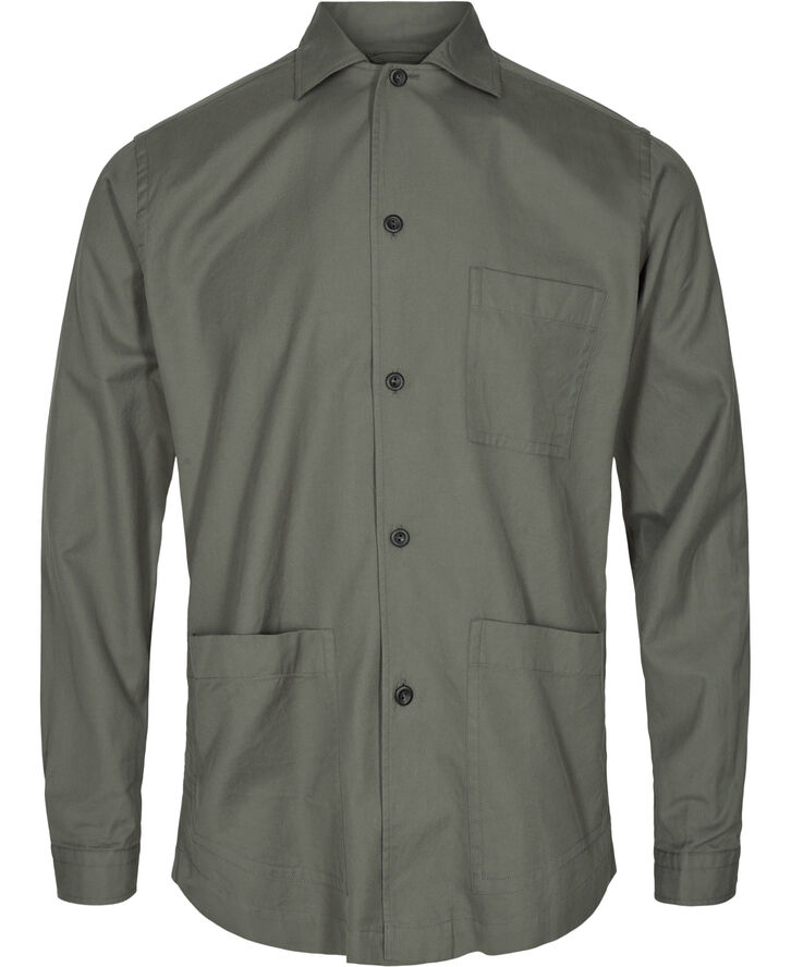 3-pocket overshirt Contemporary fit