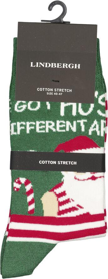 Christmas pattern sock