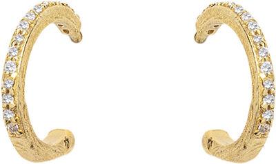 Sparkly Hoop Earrings