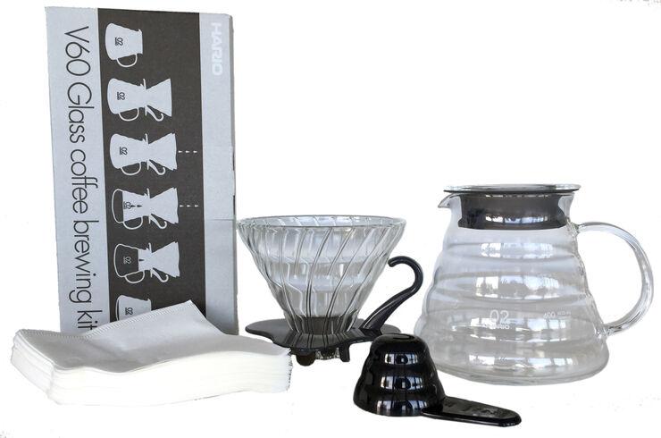 Hario Glass Coffee Brewing Kit