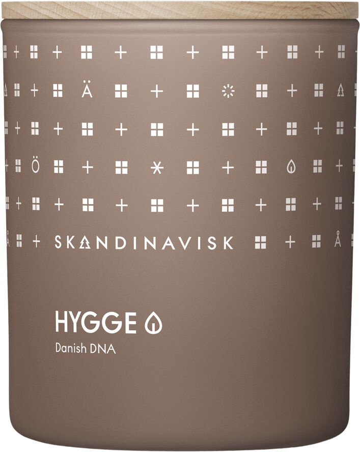 HYGGE Scented Candle w Lid 200g