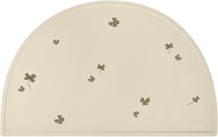 Placemat Half Moon - Clover meadow