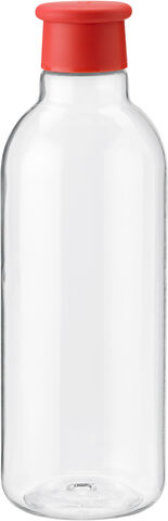 DRINK-IT vandflaske 0,75 l. - warm red