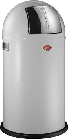 Pushboy affaldsspand hvid 50 liter