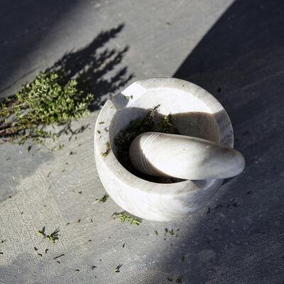 Mortar w. Bumper - Marble