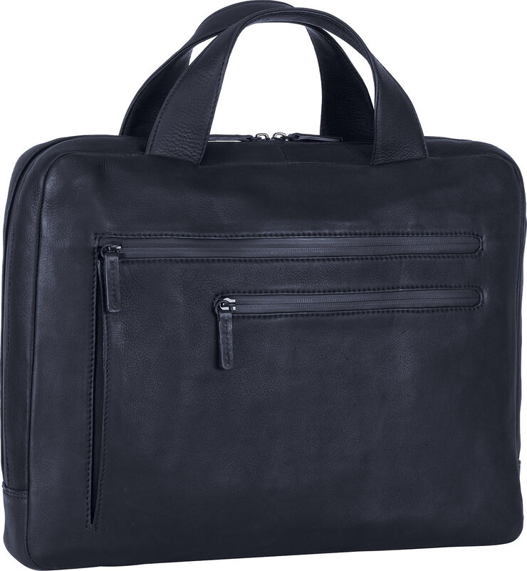 Briefcase with zipper 1 comp.