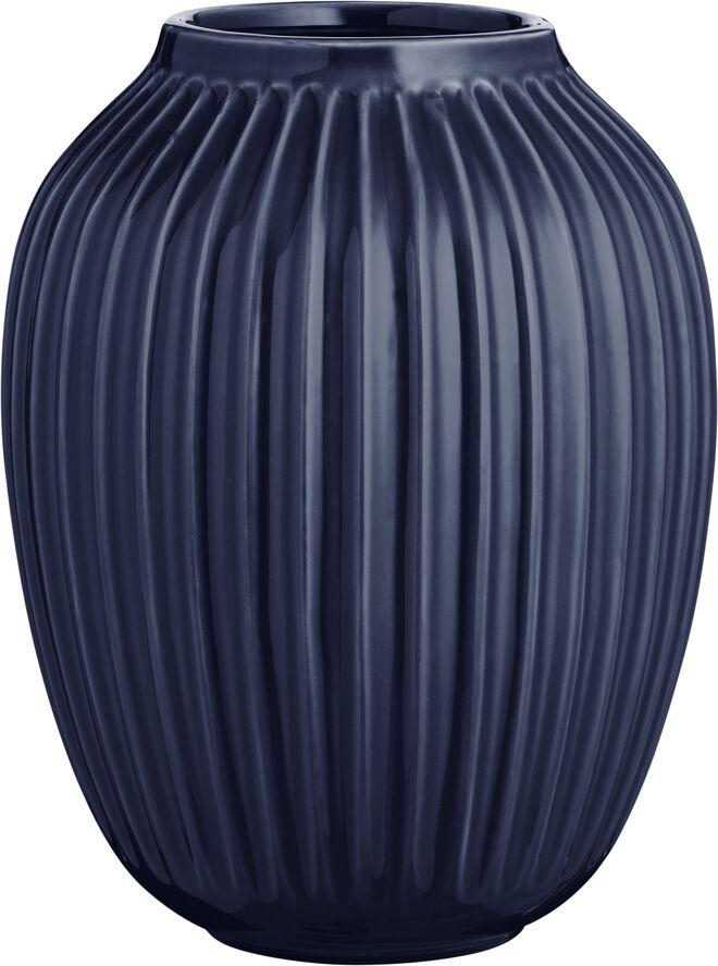 Hammershøi vase H25 Indigo