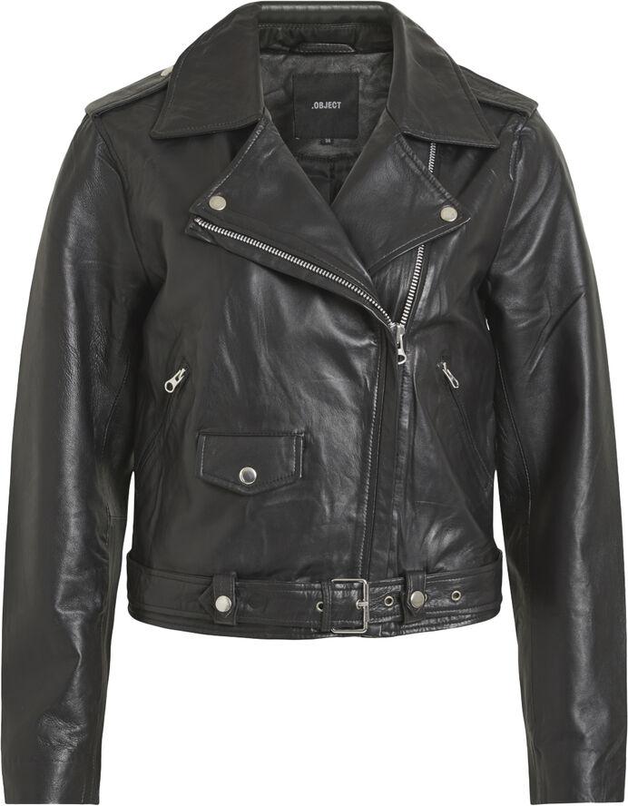 objnandita læder jakke