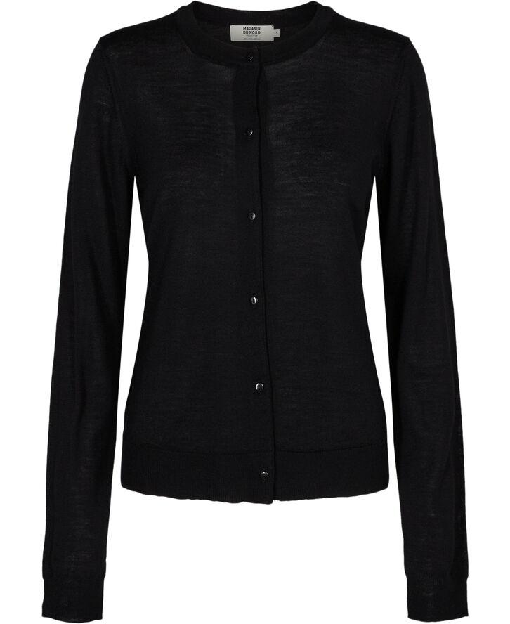 Cally 1 - 100% merino wool - black