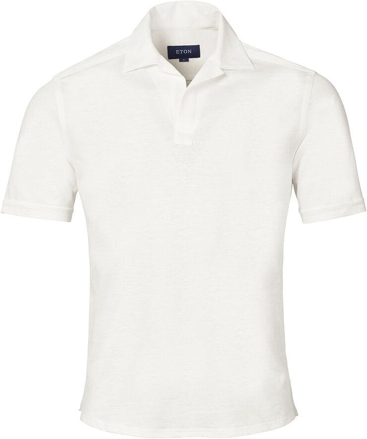 Cotton & Linen Pique shirt - Slim fit