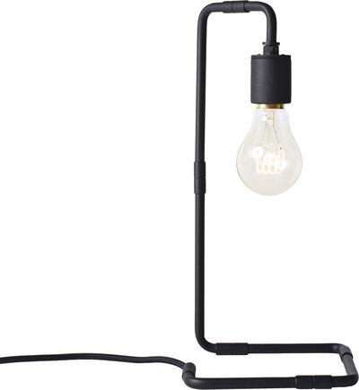 Reade Table Lamp, Black