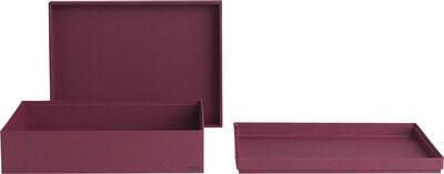 Tray box rectangular A4