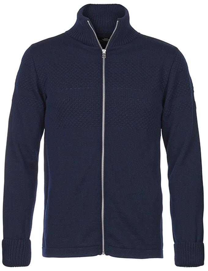 100% Wool Klemens Zip cardigan
