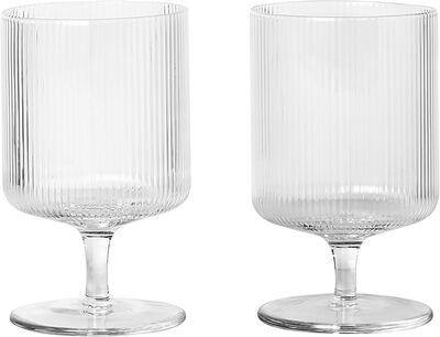 Ripple 2 skt. Wine Glasses
