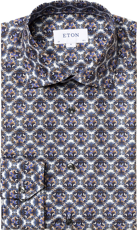 Medallion print shirt Slim fit