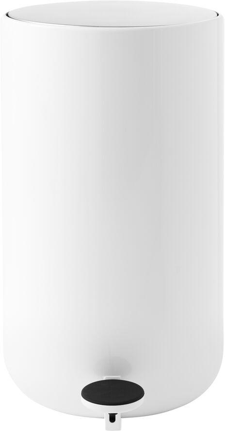 Pedal Bin, 11 L, White