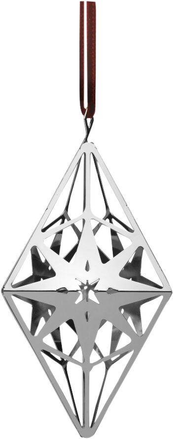 Rombeophæng H11,3 sølv