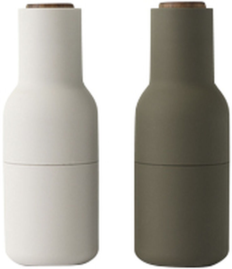 Bottle Grinder, Hunting Green/Beige