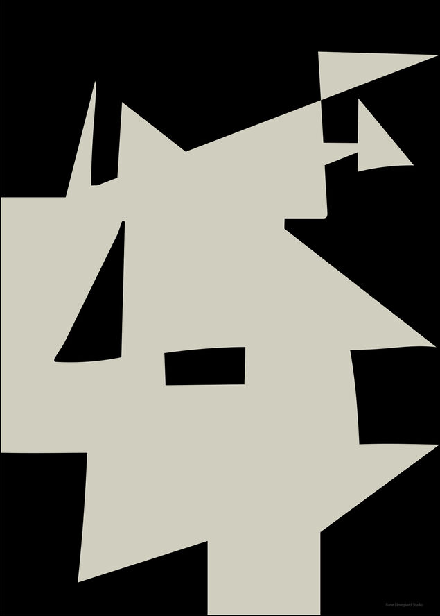 Modern shape No 14 70100
