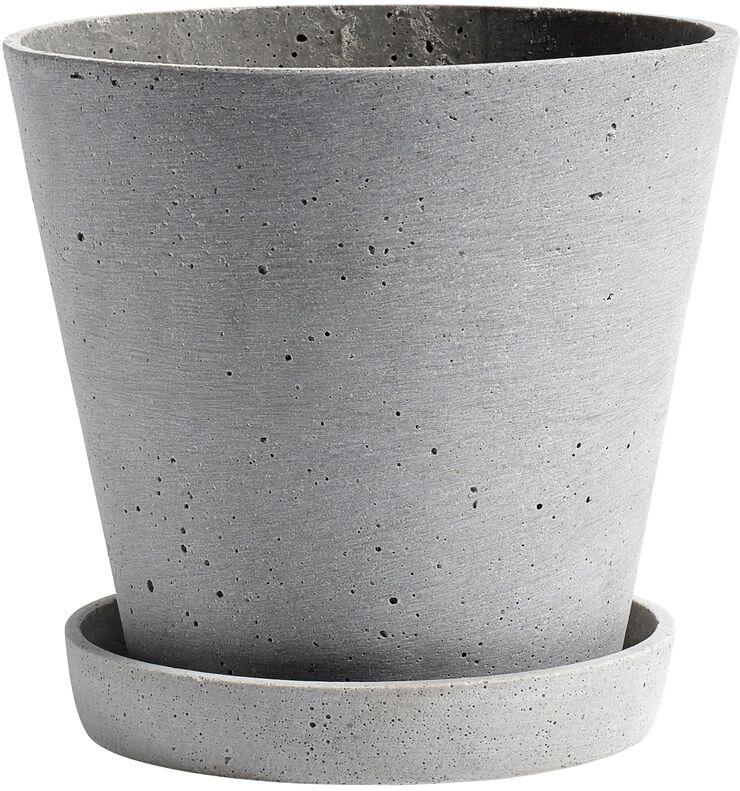 Flowerpot with Saucer L