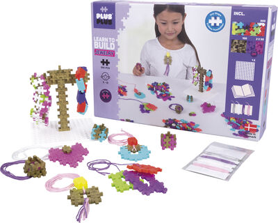 Plus-Plus Learn to Build Jewelry