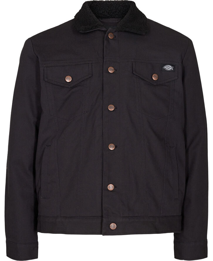 MARKSVILLE TRUCKER JACKET BLACK
