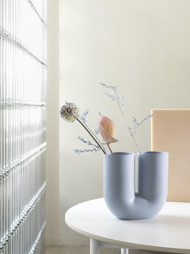 Kink Vase - H27 - Blue