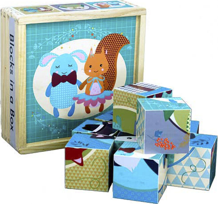 Forest Friends Blocks in a Box