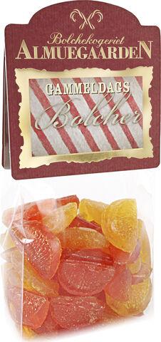 Syrlige bolcher med smag af appelsin & citron