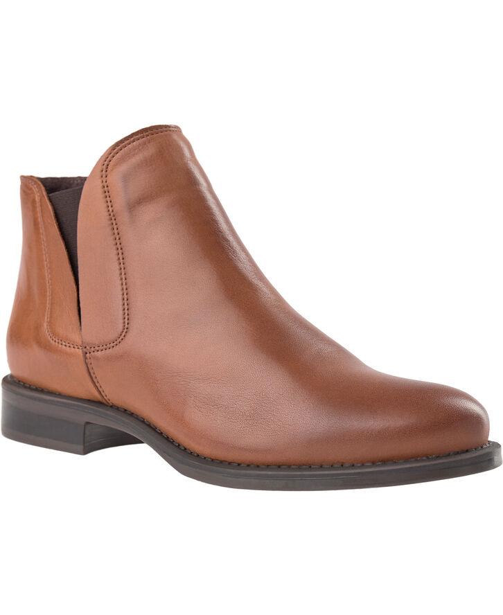 Biacharme læderstøvle