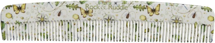 Pocket Comb Acorns & Butterflies from Rock & Ruddle