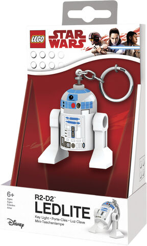 R2-D2 Key chain with LED light