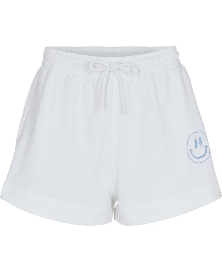 T2795 Shorts med smiley