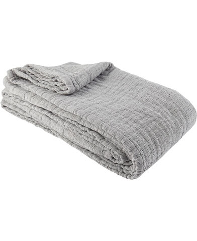 Nordic bedspread 180x260cm navy nuance