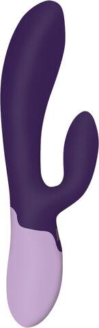Xena Rabbit Vibrator Deep Purple & Lilac